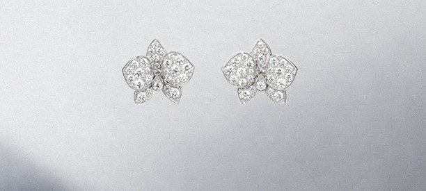 Caresse d'Orchidées par Cartier Earrings