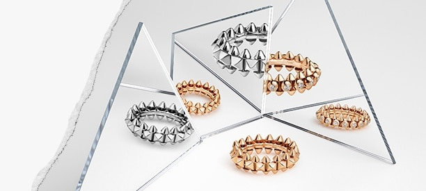 Clash de Cartier rings