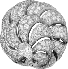 Faune et Flore de Cartier ring Platinum, diamonds