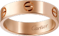 <span class='lovefont'>A </span> ring Rose gold