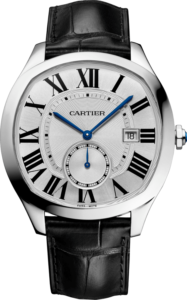Drive de Cartier watchSteel, leather