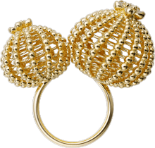 Cactus de Cartier ring Yellow gold, diamonds