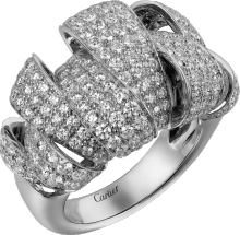 Coup d'Éclat de Cartier ring White gold, diamonds
