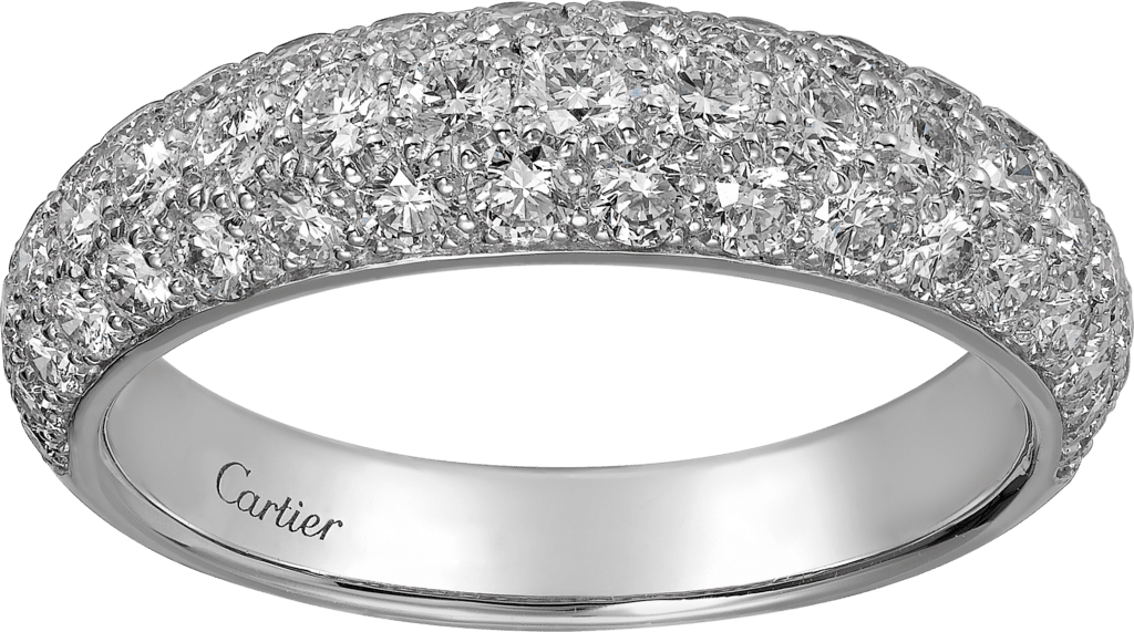 Étincelle de Cartier ring, small modelWhite gold, diamonds