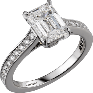Solitaire 1895 Platinum, diamonds