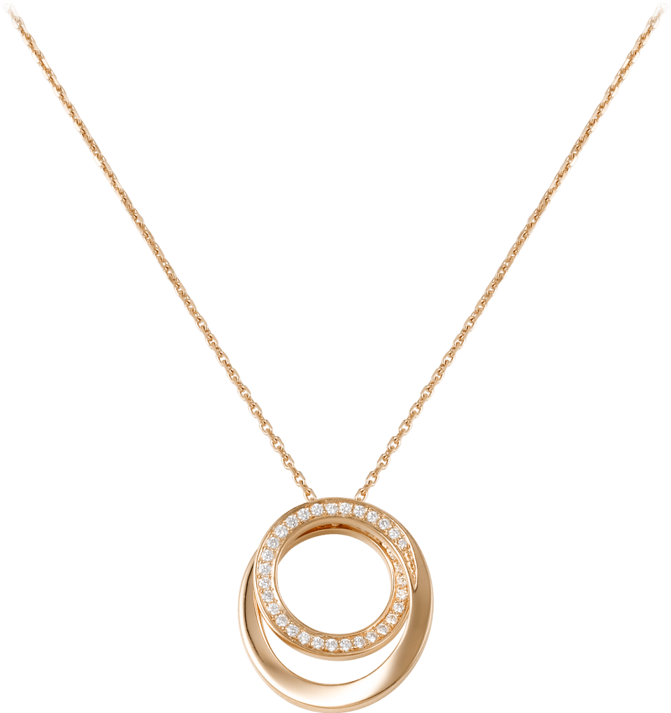 Etincelle de Cartier necklacePink gold, diamonds