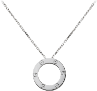 Love necklace White gold