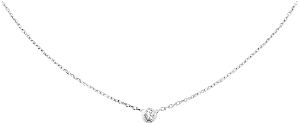 Diamants Légers necklace, LMWhite gold, diamond