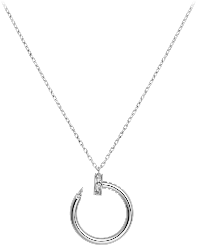Juste un Clou necklaceWhite gold, diamonds