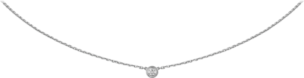 Diamants Légers necklace XSWhite gold, diamond