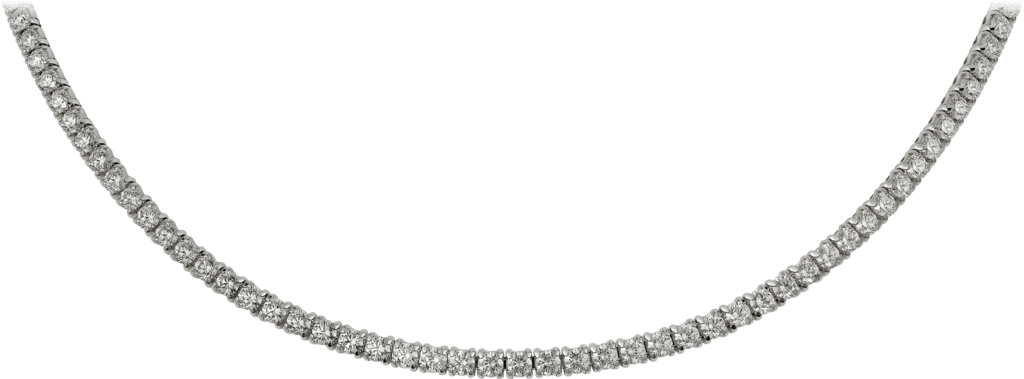 Essential Lines necklaceWhite gold, diamonds