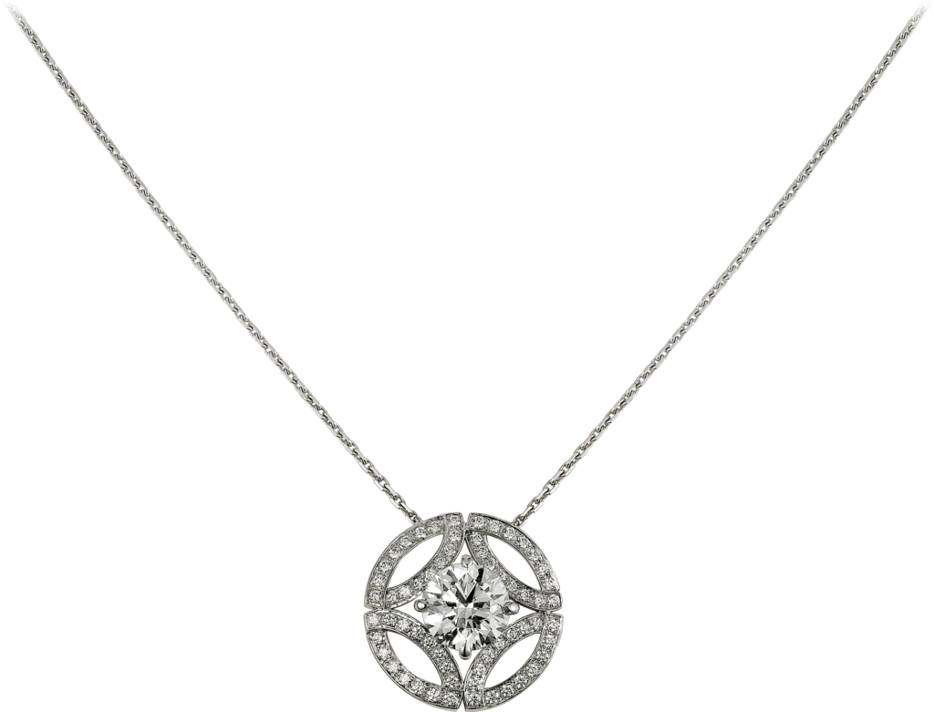 Galanterie de Cartier necklaceWhite gold, diamonds