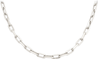 Santos de Cartier necklace White gold