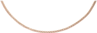 Chain necklace White gold, yellow gold, pink gold