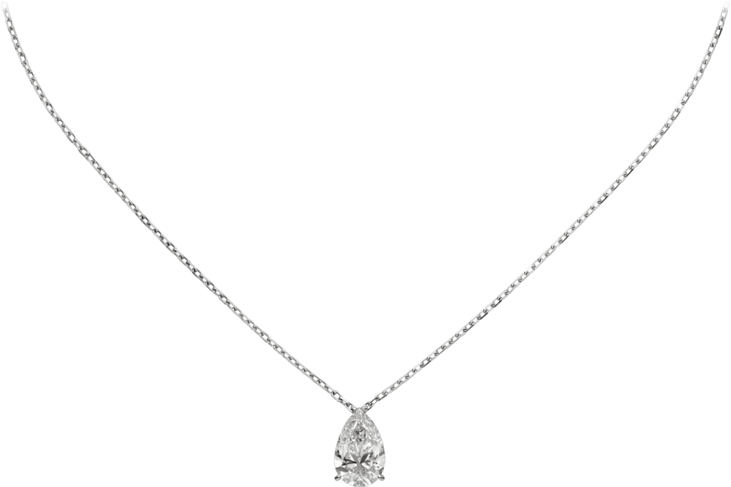 1895 necklaceWhite gold, diamond