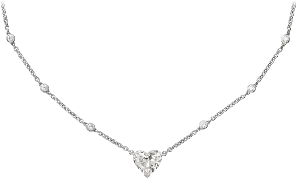 High Jewelry 1895 necklacePlatinum, diamonds