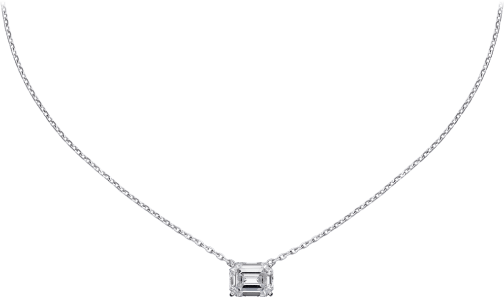 High Jewelry 1895 necklaceWhite gold, diamond