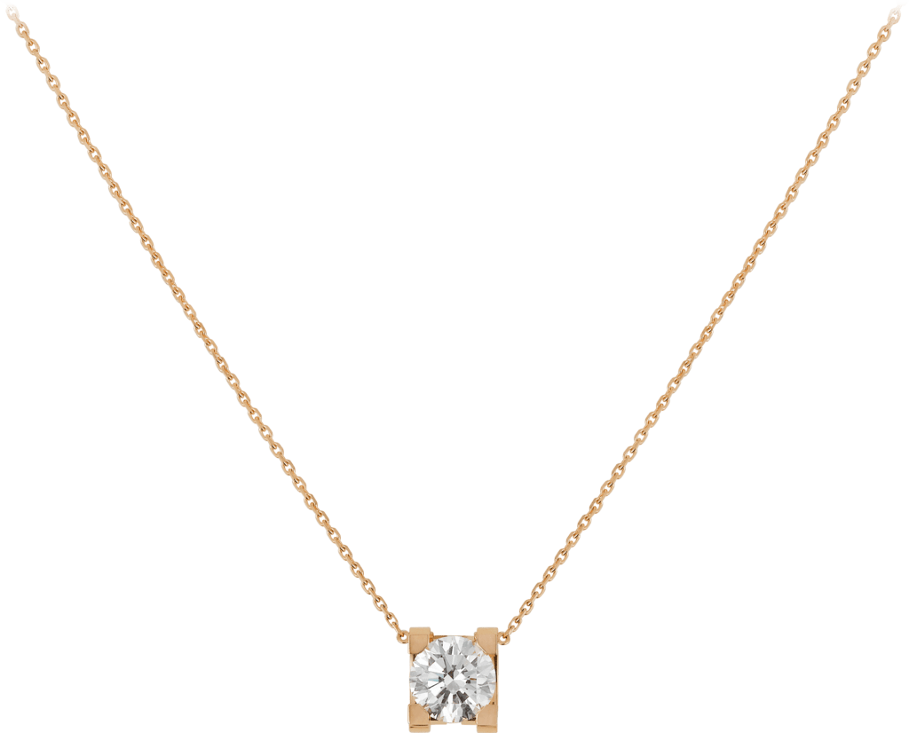 C de Cartier necklacePink gold, diamond