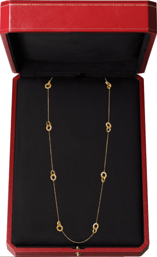 Love necklace Yellow gold
