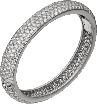 Etincelle de Cartier bracelet Platinum, diamonds