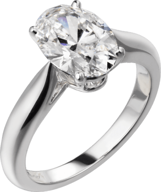 Solitaire 1895 Platinum, diamond