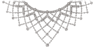 High Jewelry necklace White gold, diamonds
