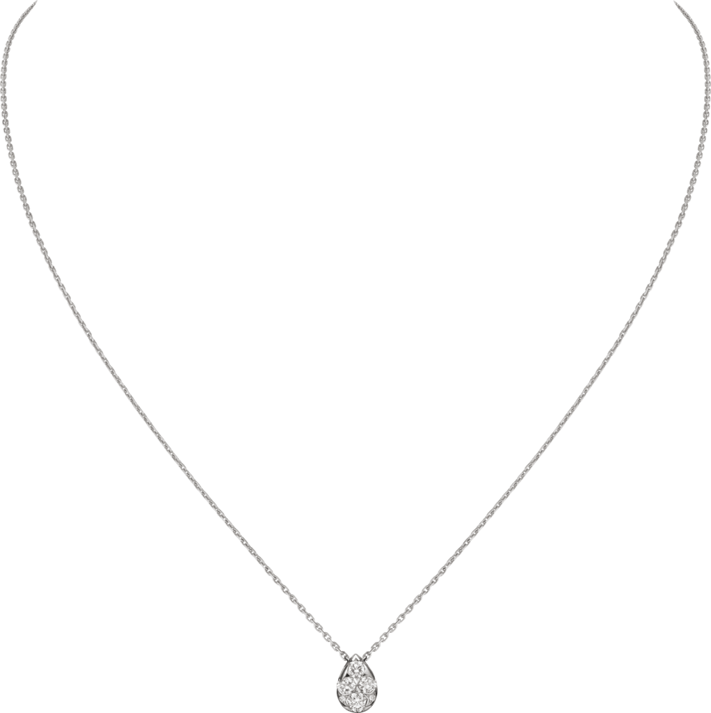 Etincelle de Cartier necklaceWhite gold, diamonds