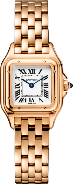 Panthère de Cartier watch Small model, pink gold