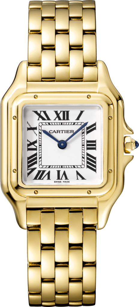 Panthère de Cartier watchMedium model, yellow gold