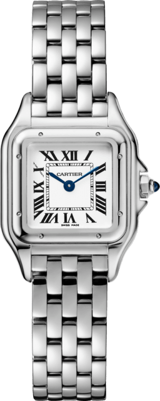 Panthère de Cartier watch, small model Small model, steel