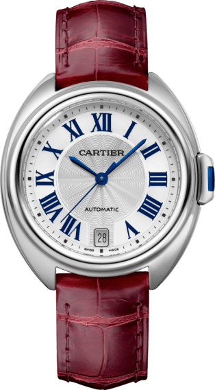 Clé de Cartier watch 35 mm, steel