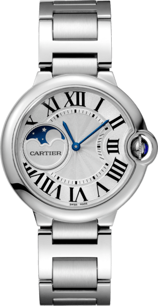 Ballon Bleu de Cartier watch 37 mm, steel