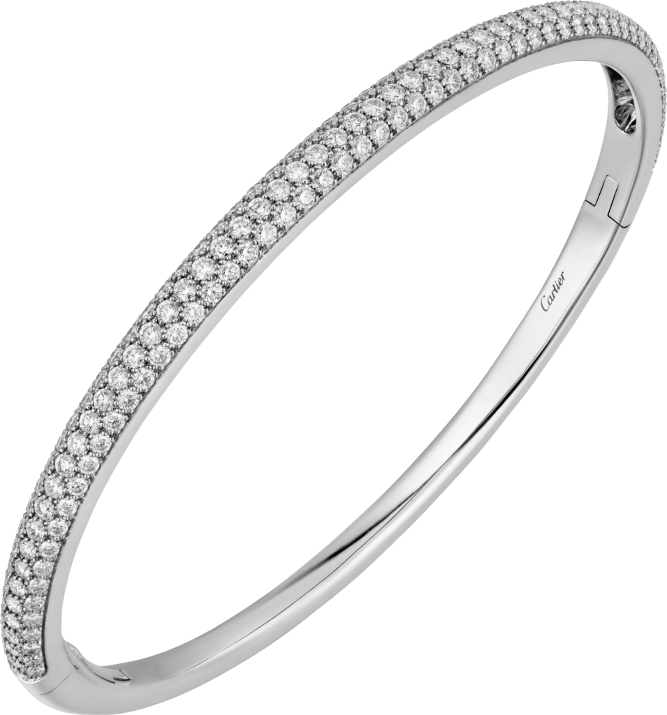 Etincelle de Cartier braceletWhite gold, diamonds