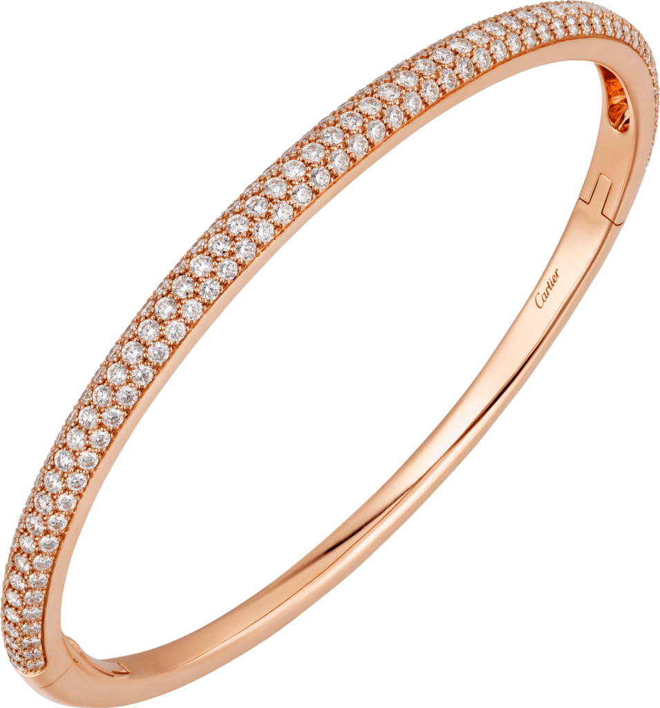 Etincelle de Cartier braceletPink gold, diamonds