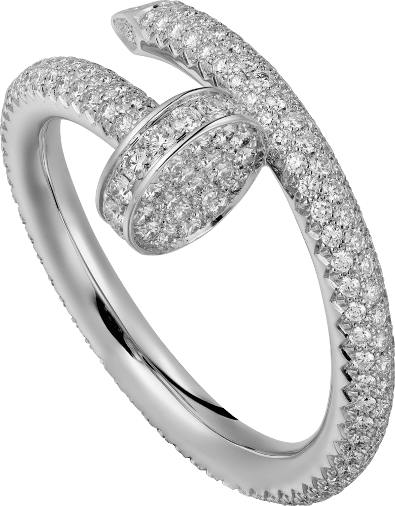 Juste un Clou ringWhite gold, diamonds