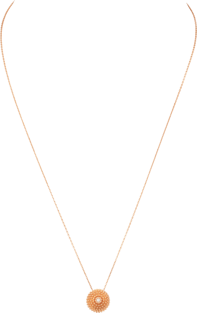 Cactus de Cartier NecklacePink gold, diamond