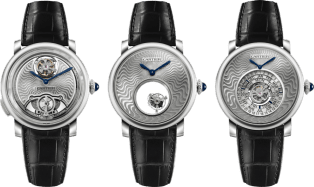 Fine Watchmaking Gift Set Gift set of 3 Fine Watchmaking guilloché timepieces