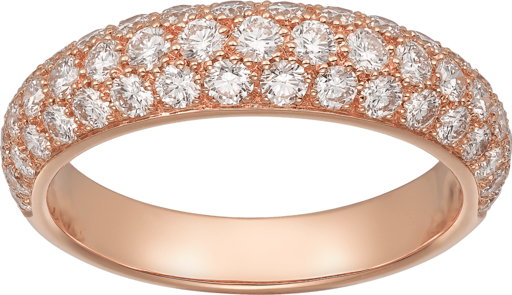 Étincelle de Cartier ring, small modelPink gold, diamonds