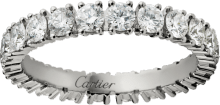 Cartier Destinée wedding band Platinum, diamonds