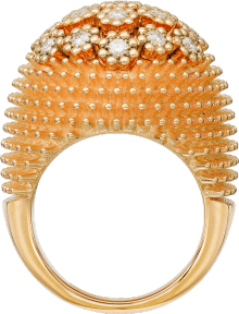 Cactus de Cartier ring Pink gold, diamonds