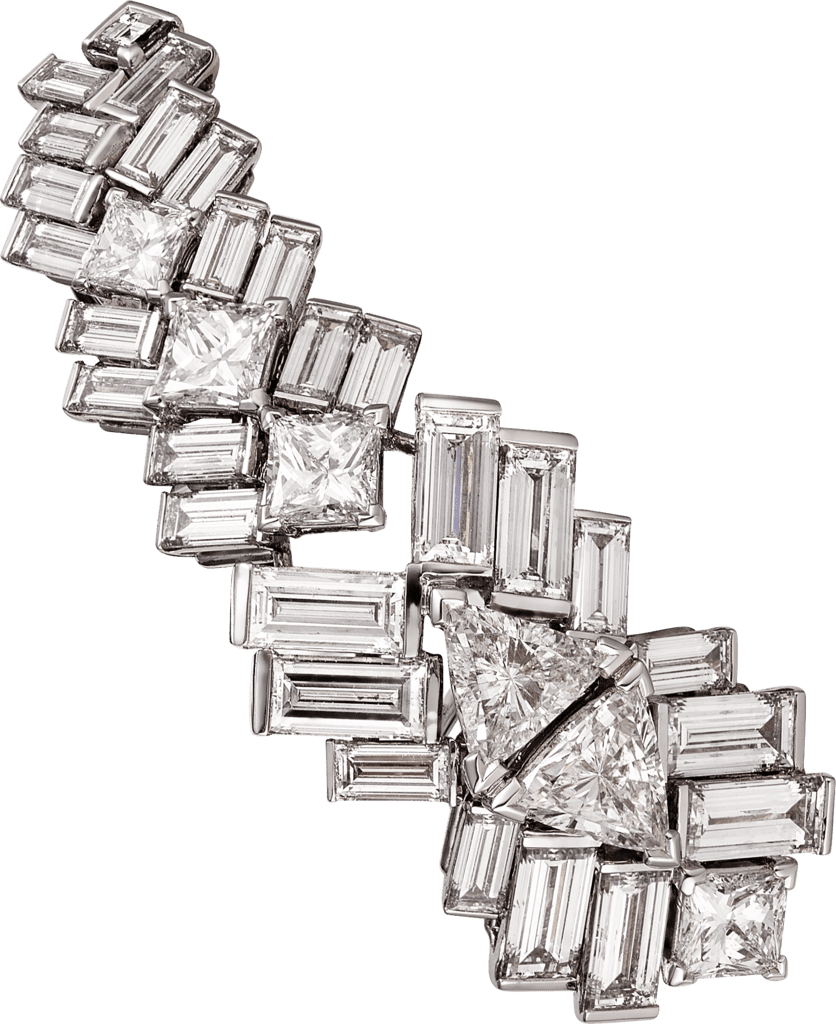 Reflection de Cartier earringsWhite gold, diamonds
