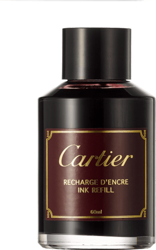 Bottle of burgundy ink 60 ml