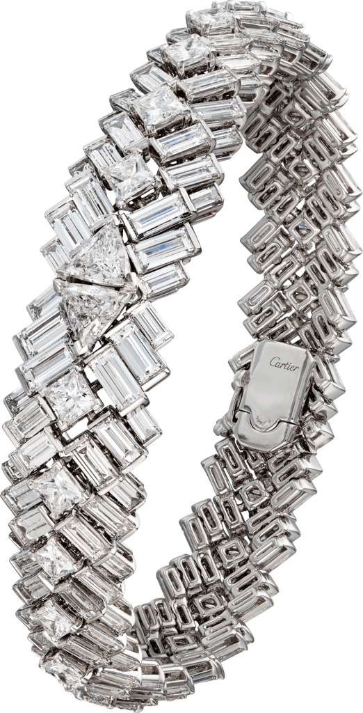 Reflection de Cartier braceletWhite gold, diamonds