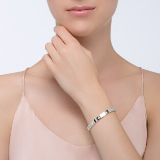 Love bracelet, 10 diamonds White gold, diamonds