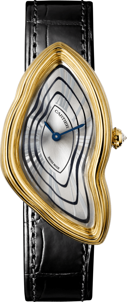 Cartier Libre watchYellow gold, leather
