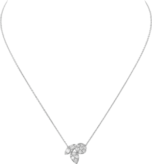 Pluie de Cartier necklace White gold, diamonds