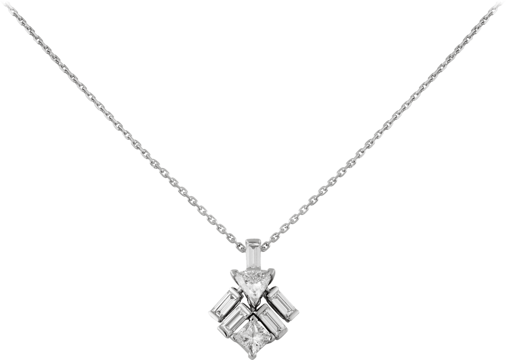 Reflection de Cartier necklaceWhite gold, diamonds
