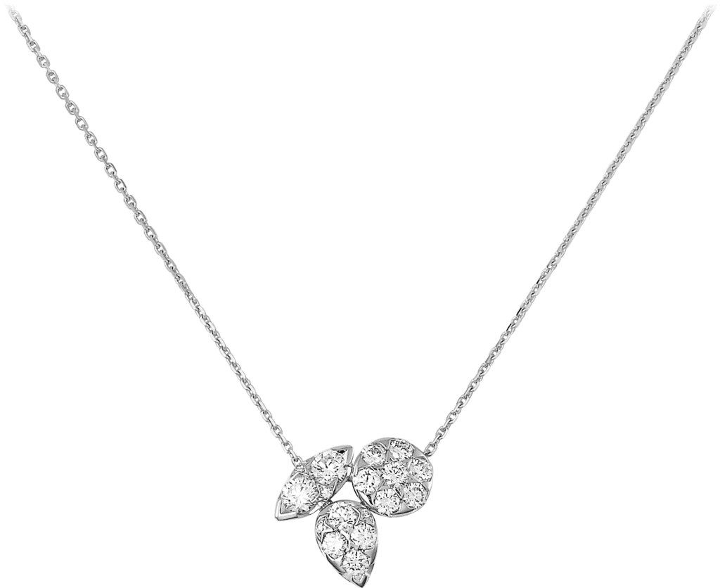 Pluie de Cartier necklaceWhite gold, diamonds