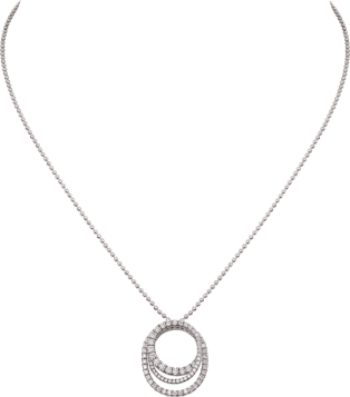Etincelle de Cartier necklace White gold, diamonds
