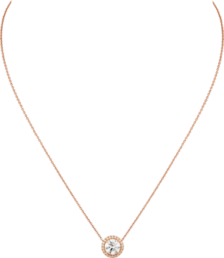 Cartier Destinée necklace Pink gold, diamonds